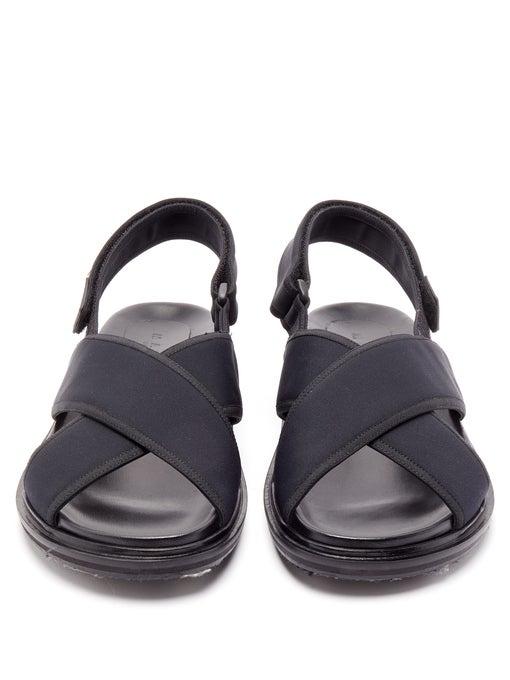 Fussbett crossover sandaler i neopren |  Marni |  MATCHESFASHION