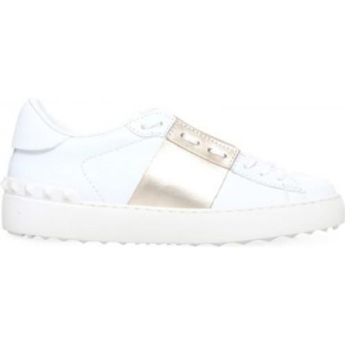 VALENTINO Sneakers för kvinnor i öppet läder 783-10004.