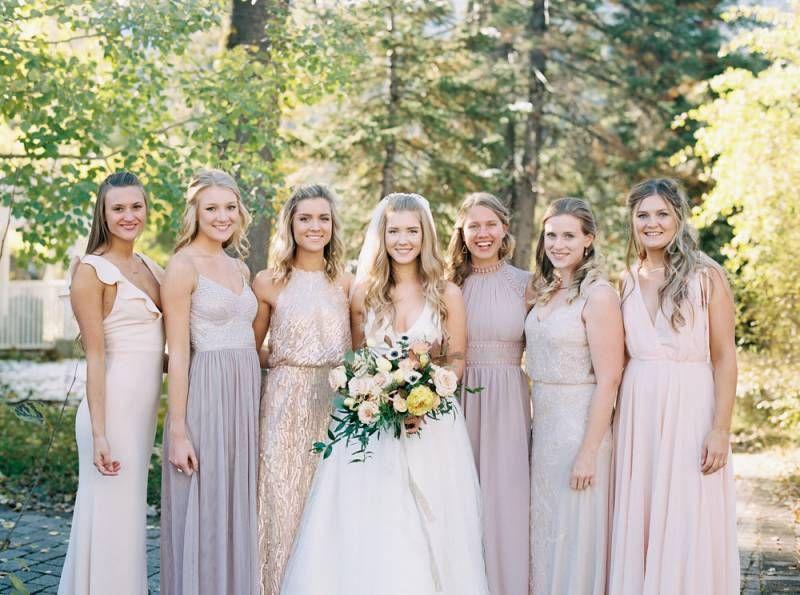 Kyligt höstbröllop i McCall    McCall Real Wedding    Felaktig matchning.