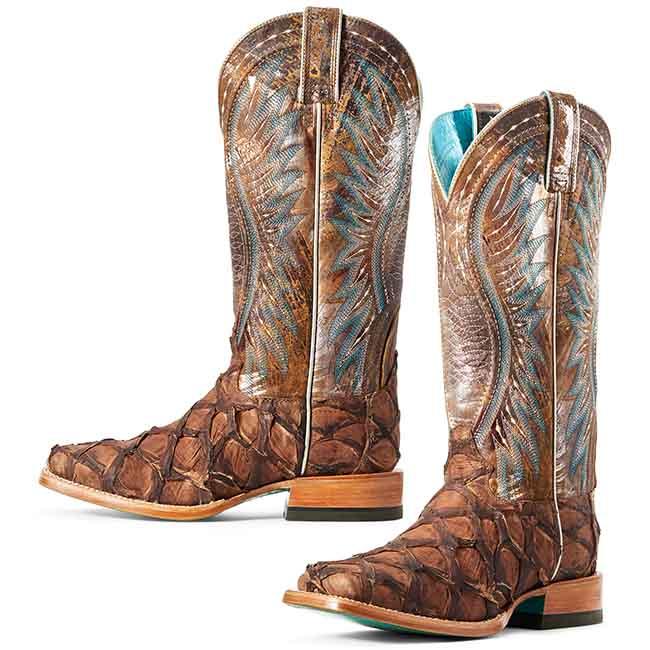Ariat Exotic Western Boots Dam Vaque