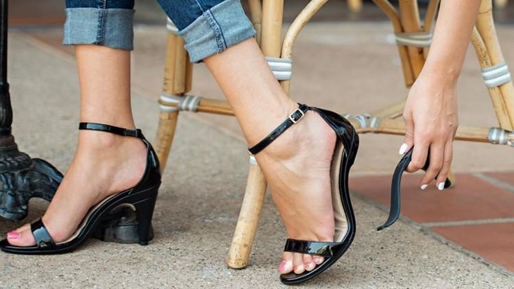 Högklackade skor som omvandlas till lägenheter (en gång en dröm) är nu en.