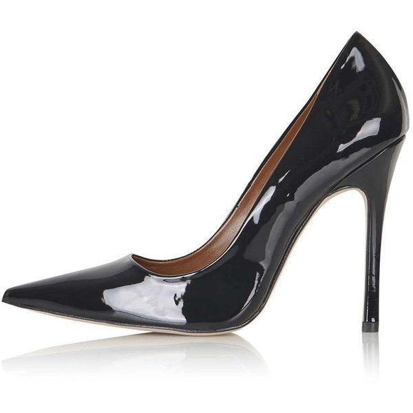 TOPSHOP GALLOP Patent Court Shoes |  Svarta lackskor, svart.