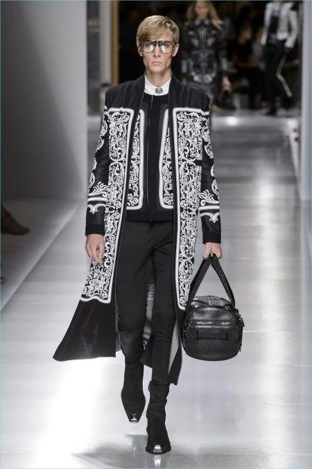 Bästa Balmain Herrkläder Vårsommar    Mode, herrkläder, nästa fashi