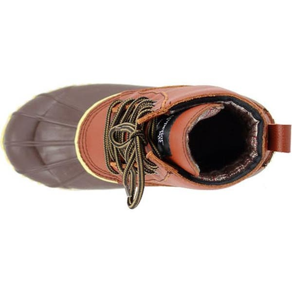 Shop Superior Boot Co. Kvinnors traditionella 6-Eye Duck Boot Brown.