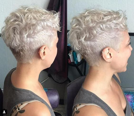 Cool Pixie Style For Curvy Haircut #shortcurlypixie 2020.