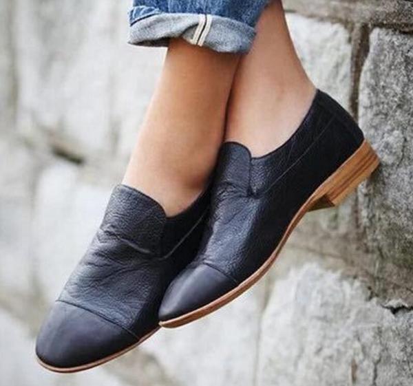 Skor - Kvinnor Chunky Low Heels Shoes Pumps - Kaa