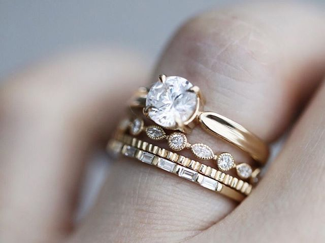 25 baguettbröllopsband som ser så tidlösa ut    Vem vad vi