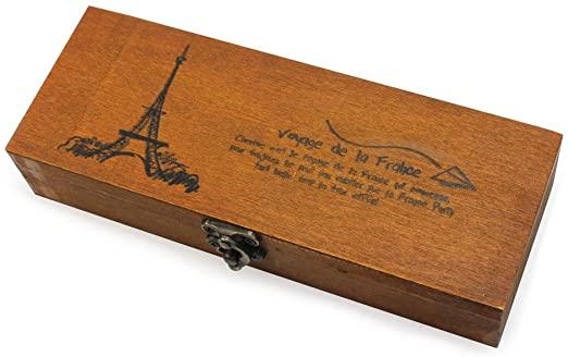Amazon.com: Retro Eiffeltornets träpennpennor för smycken.
