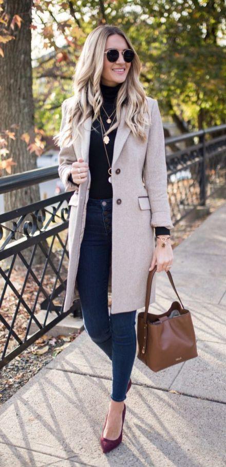 Elegant Fall Outfits 3    Vinteraffärskläder, Fallkläder.