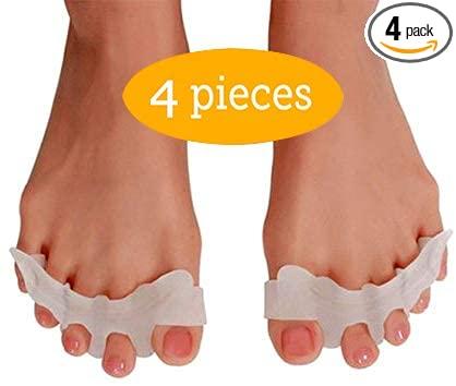 Amazon.com: Flexibla tåspridare, Hammer Toe Straightener, mjuk.