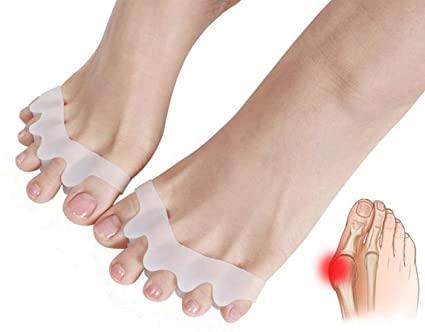 Amazon.com: Gel Toe Separator Rubber Toe Stretchers Toe Spacers.