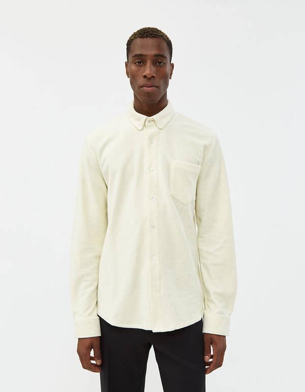 Séfr Leo badrockskjorta i benvit |  Behöver leverans C