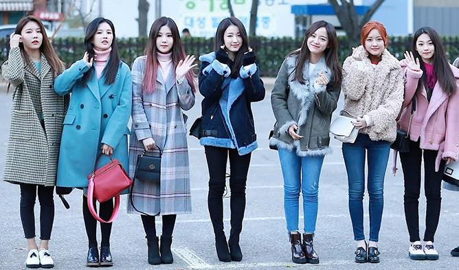 Kvinnlig K-Pop Idol Daily Winter Fashion Compilation    Kpopmap.