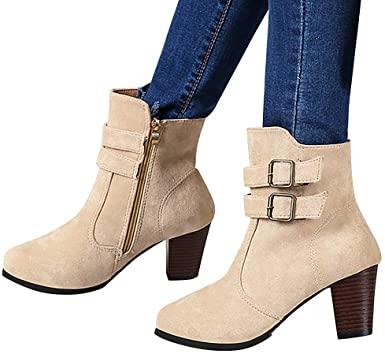 Amazon.com: Hemlock ankle stövlar kvinnor, dam vinterklänning stövlar.