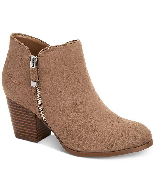 Style & Co Masrinaa Ankle Booties, skapad för Macy's & Reviews.