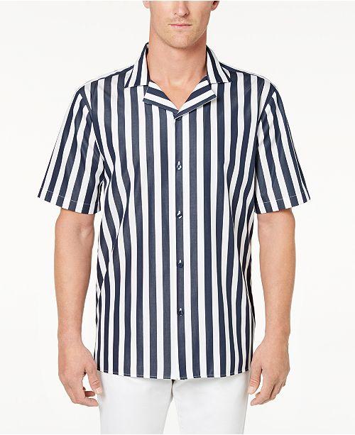 Calvin Klein randig skjorta för män & recensioner - Casual Button-Down.