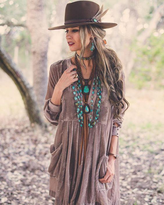 40 vackra Idéer för mode i Boho Chic som är underbara.