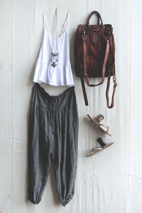 29 Super Chic Bohemian Style Outfit Ideas    Bohemisk stil.
