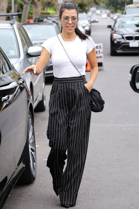 Kourtney Kardashians bästa Street Style-kläder    InStyle.com.
