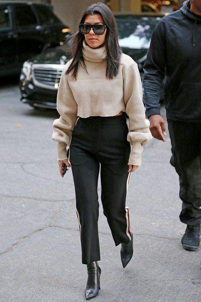 Kourtney Kardashians bästa Street Style Looks # kardashians.