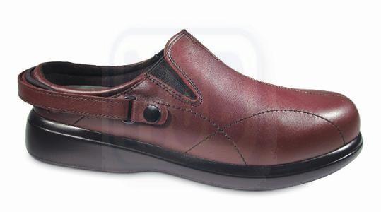 Nature's Stride Nantucket Therapeutic Shoes för kvinnor - Merlot.