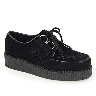 Creepers för damer    Brogan skor, höga plattform skor, mode sho