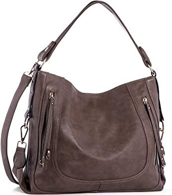 Amazon.com: Handväskor för kvinnor, UTAKE Axelväskor för kvinnor PU.