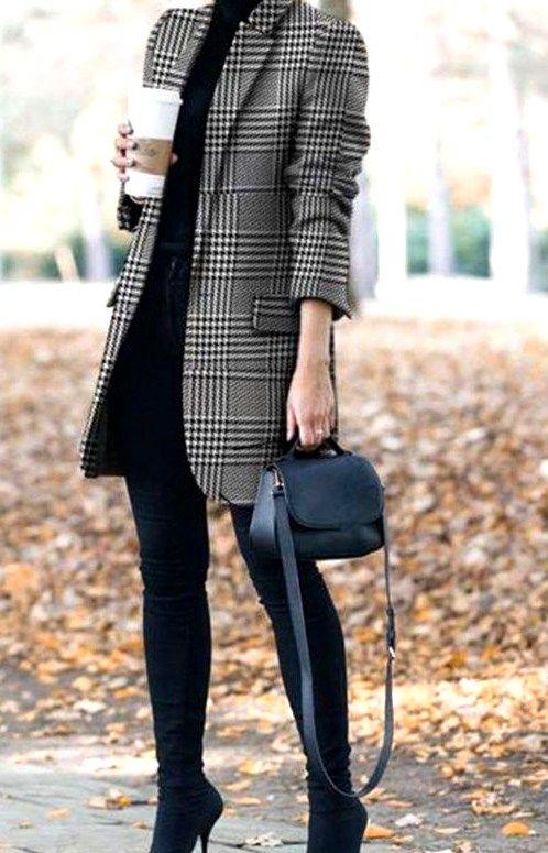 30 söta höstarbeten eleganta klädesidéer för kvinnor    Höst mode.