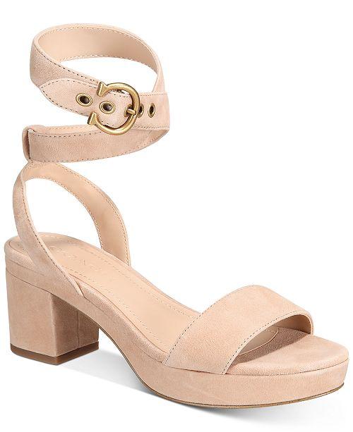 COACH Serena mocka sandaler & recensioner - Skor - Macy