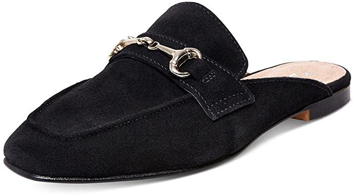 Amazon.com |  YDN Tofflor för rygglösa mules Loafer för kvinnor.