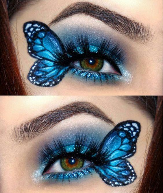 10 Spooky Makeup letar efter Halloween Fanatic |  Maquillaje de.