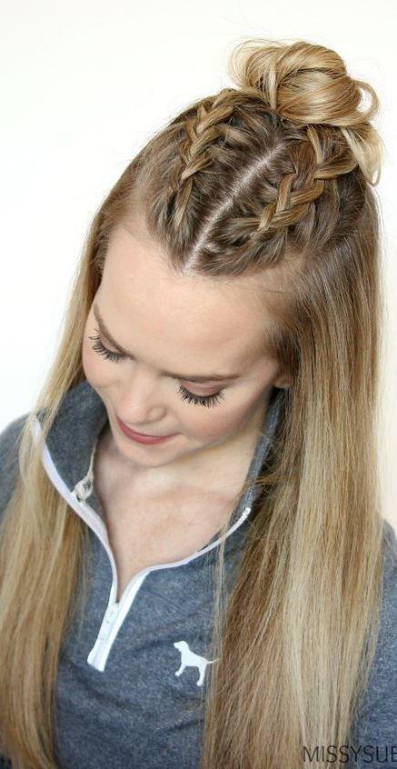 Eleganta och enkla frisyridéer för tjockt hår    Lätta frisyrer.