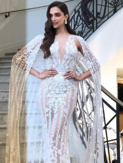 Deepika Padukone Fantastisk titt på filmfestivalen i Cannes 2018.