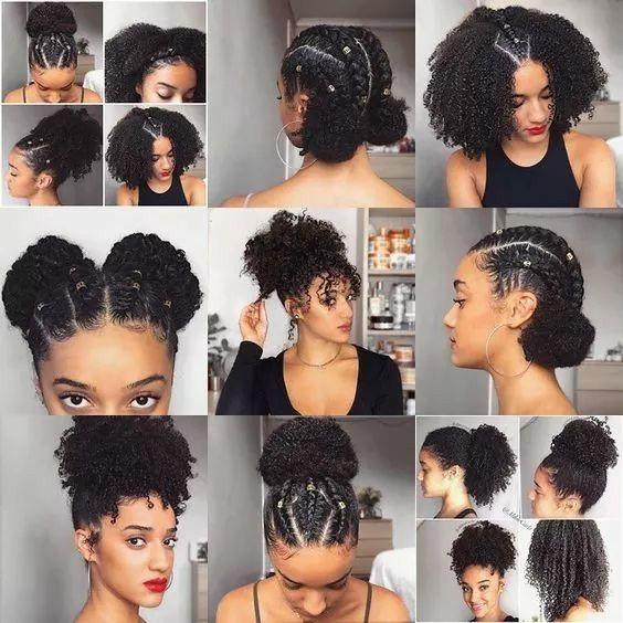 Pin av Life Lines Professional Servic på beleza |  Naturligt hår.