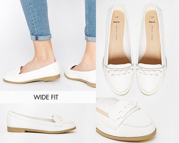 22 legitimt söta skor för damer med breda fötter    Breda fötter.