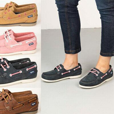 Dam snörning däck skor dam platt båt sko loafer design.