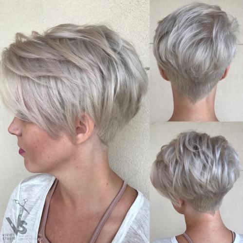 70 korta hackiga frisyrer för alla smaker.  Choppy Bob, Lager, Ban