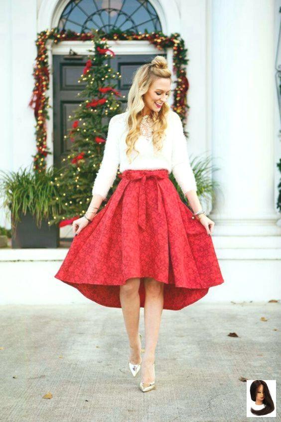 10 Pretty Christmas Eve Church Kläder som ser artig ut.