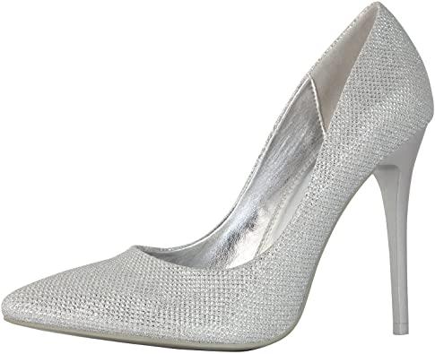 Amazon.com |  DailyShoes damklassiskt stiletto spetsigt.