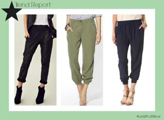 Slouchy Pants Trend: Lex What We