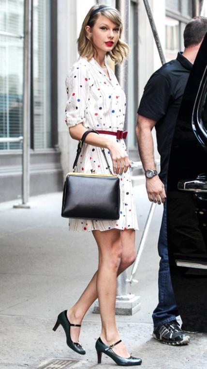 Taylor Swifts bästa Street Style Looks |  Taylor snabb gatustil.