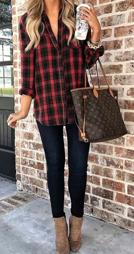 Bästa Fall Outfits 2018/2019 toppkläder för kvinnor   s mode    Casual fall.