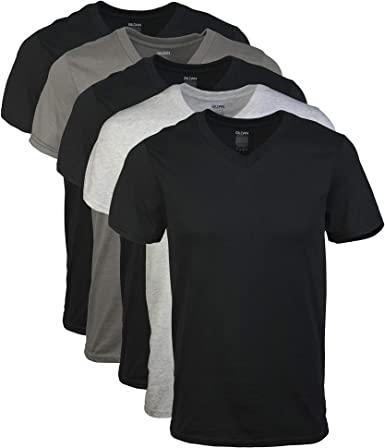 Gildan T-shirts med V-ringning för män Multipack på Amazon Herrkläder sto
