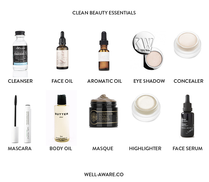 My Clean Beauty Routine - WELL / AWARE    NYC wellness, fitness.