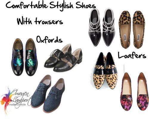 Så här kombinerar du bekväma skor med ditt Dressier Outfi