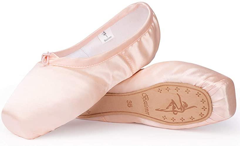 Amazon.com    TXJ Sports Ballet Shoes Pink Point Ballet Shoes för.