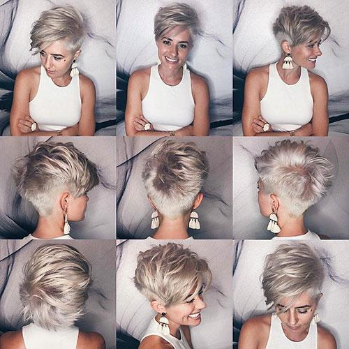 50 bästa idéer för korta lager Pixie Cut 2019    Kort hårklippning. C