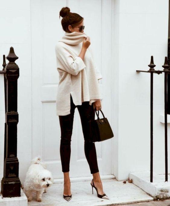 31 mysiga idéer för kontor och träningskläder för kvinnor när det är kallt.