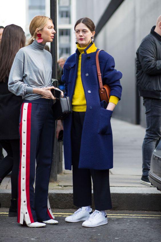 gulblå outfit blå kappa