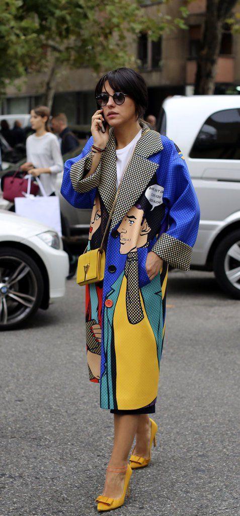 gulblå outfit komisk kappa